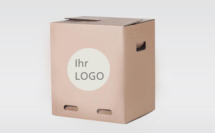 Individuell bedruckbare Kartons