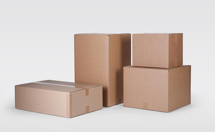 Kartons für den Export